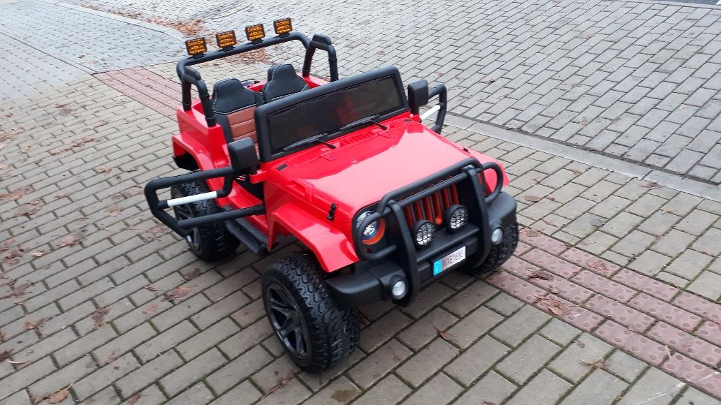 Elektrické autíčko jeep WRANGLER
