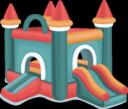 Nafukovací skákací hrad