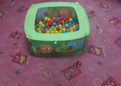Kuličkový bazének pro nejmenší