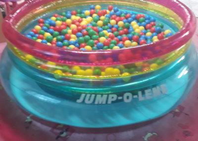 Bazén s kuličkami duhový