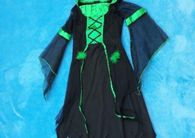 carodějnice černo zelená