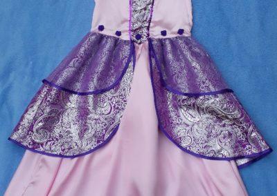 princezna fialovo-růžová