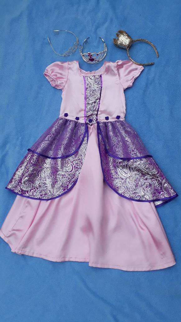 Princezna fialovo-růžová, 6-7 let