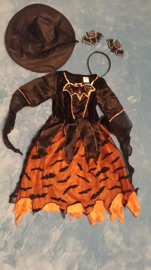 Čarodějnice halloweenská 5-6 let